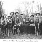1911 éclaireurs - Faubourg Saint Antoine