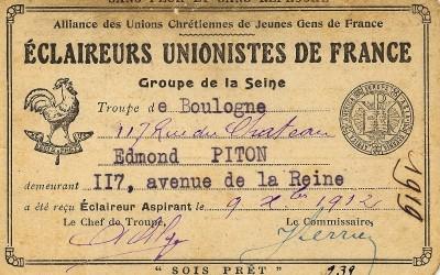 1912_carte_de_membre_Edmond_Piton