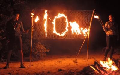 10 ans enflammés