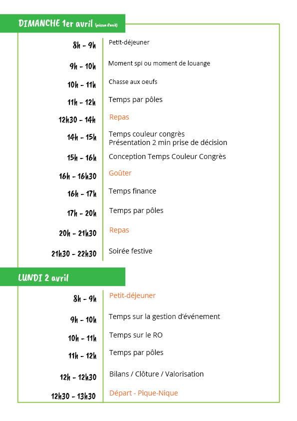 programme GTCC2