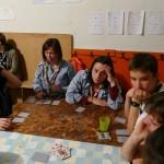 22h30 : retour de la veillée. Les gagnants sont désignés, les responsables discutent ou jouent aux cartes...