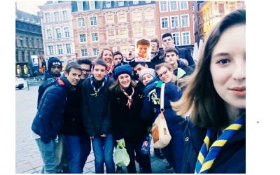 Grand'place de Lille avec les Aînés motivés !