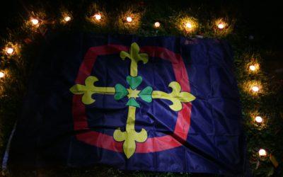 Lumières unionistes dans la nuit - oct 2017