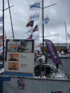 Esprit scout - bateau de class40