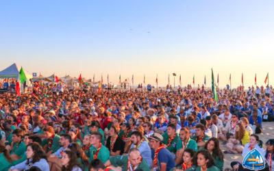 Opening ceremonie Den Haag/Scheveningen Roverway 2018