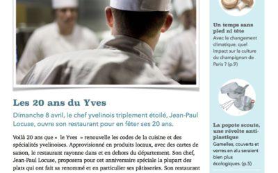 """Magasine """"Les Endives Yvelinoises"""" page 1 - édition mars/avril 2018"""