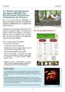 """Magasine """"Les Endives Yvelinoises"""" page 2 - édition mars/avril 2018"""
