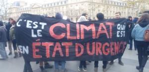 """Manifestation place de la République, ce dimanche 29 novembre, pour dénoncer """"l'état d'urgence climatique"""""""